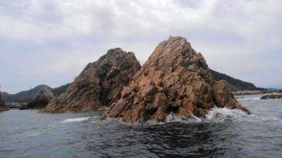 浦富海岸 島めぐり遊覧船