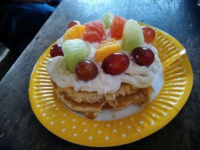 山頂ホットケーキ