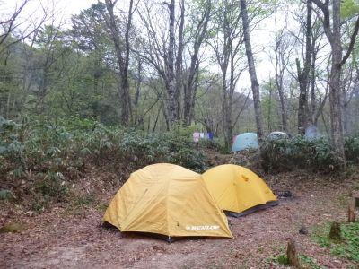 平湯温泉キャンプ場