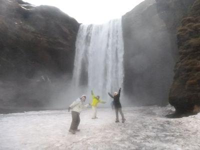 スコーガフォスの滝
