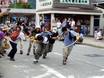 上松町夏祭り