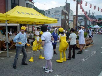 2007上松町夏祭り 第19回全国木馬引き大会