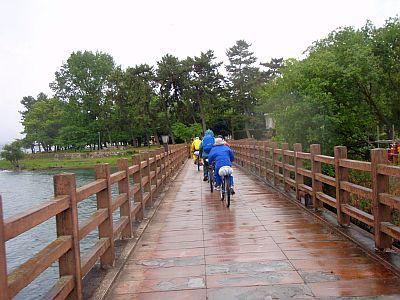 琵琶湖サイクリング