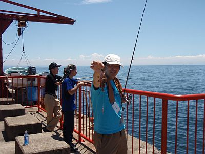 海釣り体験&海鮮バーベキュー