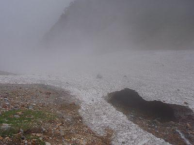 針ノ木雪渓