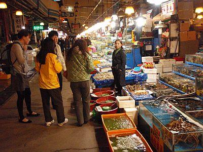 ソウル水産市場