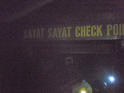 SAYAT SAYAT CHECK POINT