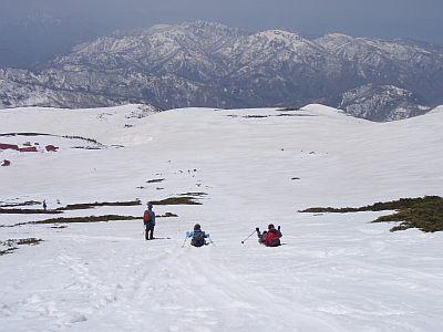 白山御前峰