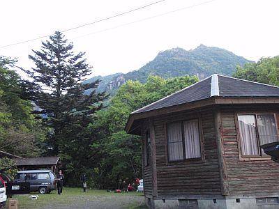 祝子川キャンプ場