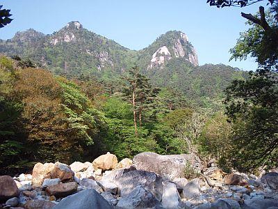 祝子川渓谷