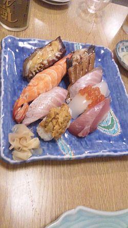 佐伯の寿司