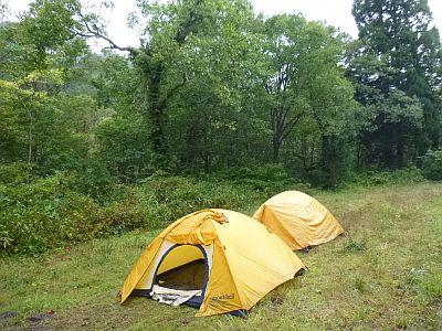 奧銀山キャンプ場