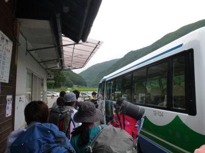 南アルプス林道バス